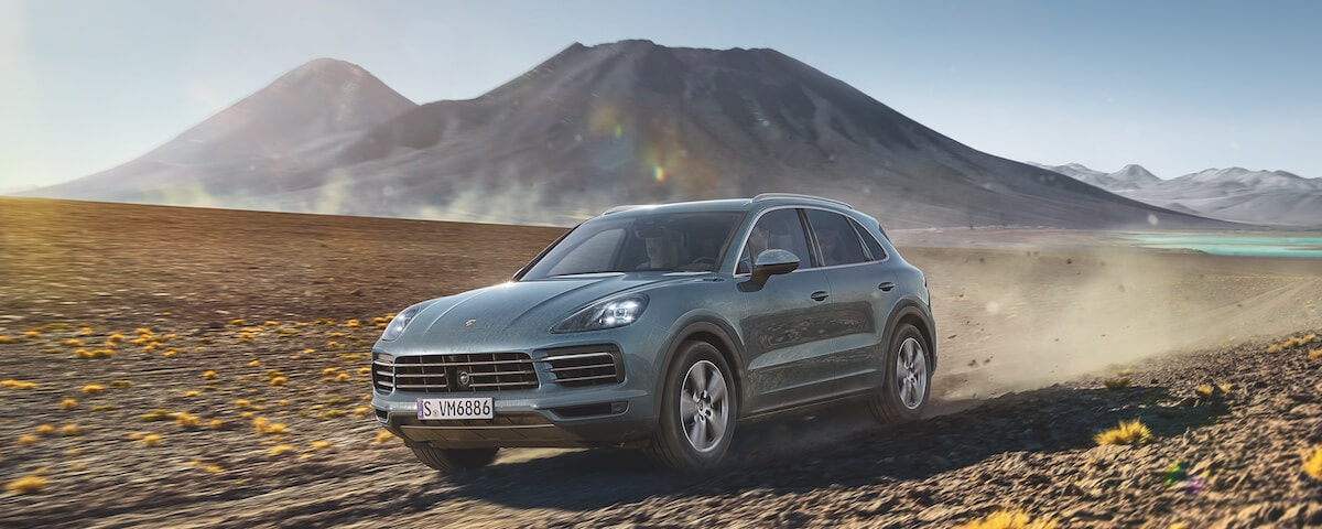 Porsche Cayenne off-road