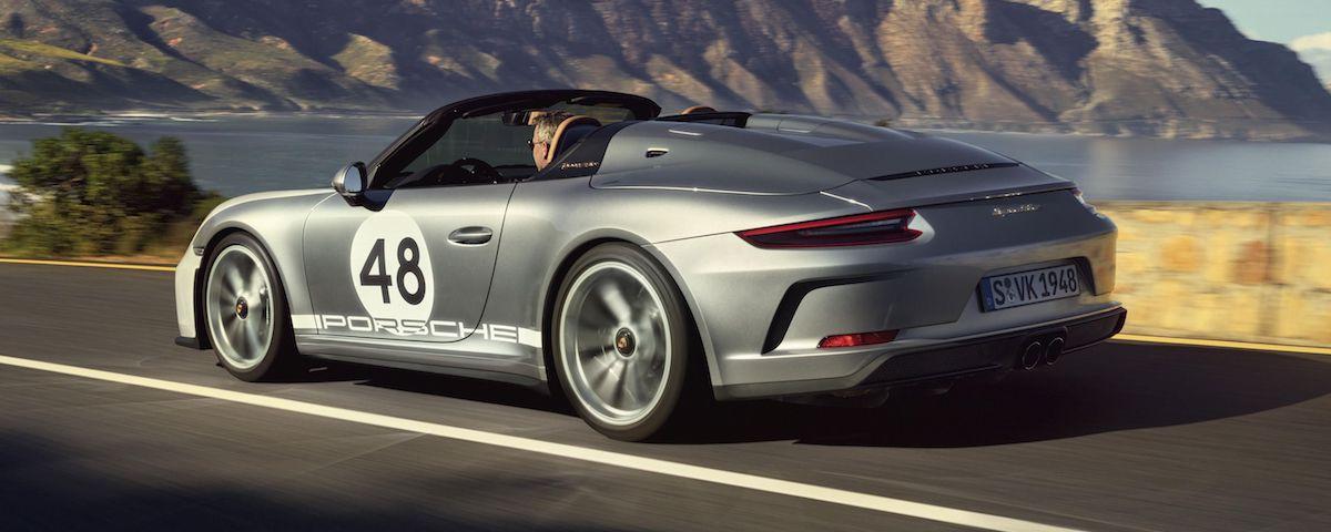 Porsche 911 Speedster Heritage Edition