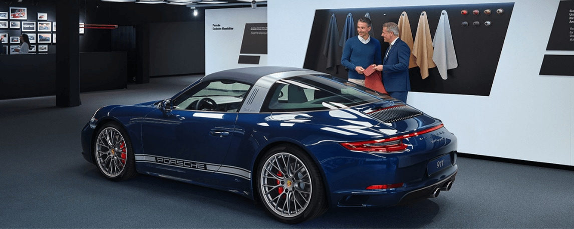 Porsche Exclusive Manufaktur design studio
