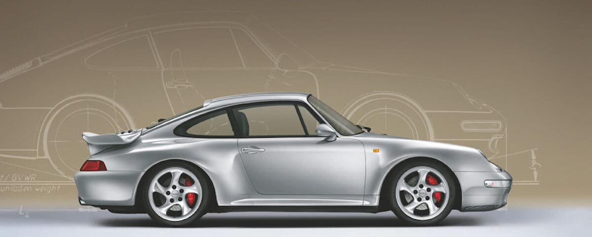 Porsche 911 993 Side