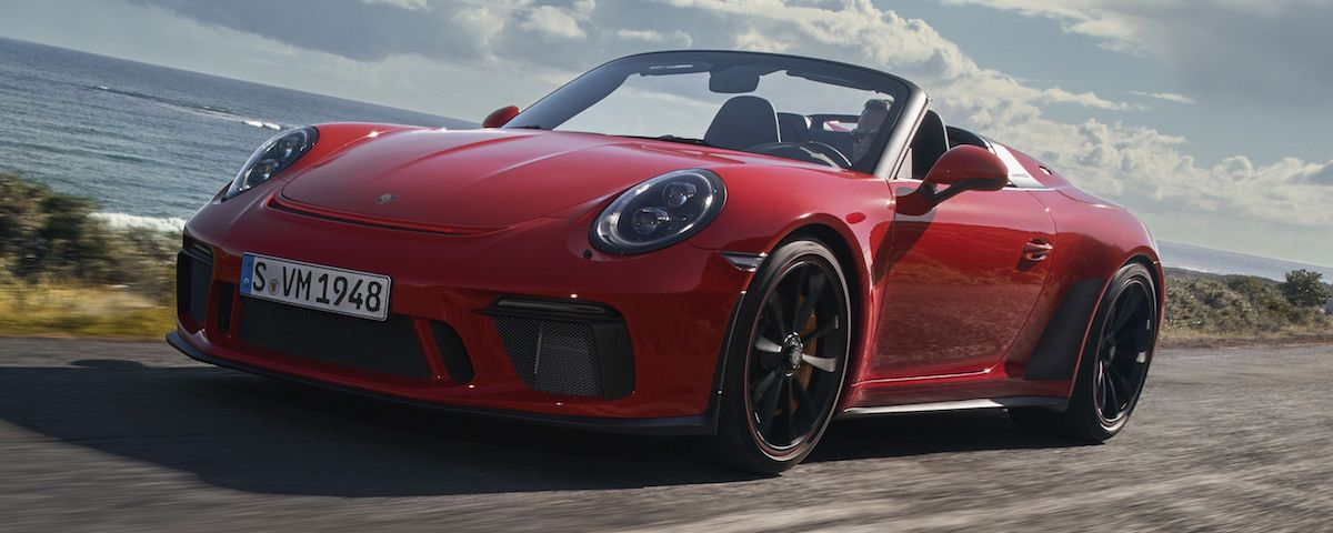 Porsche 911 Speedster in Guards Red