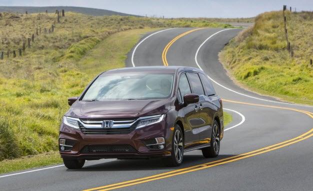 2018 Honda Odyssey Receives 'Wards 10 Best UX' User