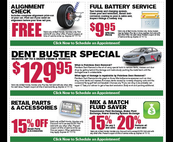 Honda Dealer Service Coupons Nj Printable Coupons For Magic House