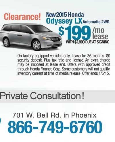 Black Friday New Honda Specials Phoenix Zero Percent Apr Offers On Some New Hondas