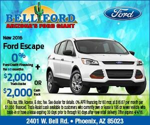Ford Dealership Phoenix Az >> Bell Ford New Ford Dealership Phoenix Az 85023