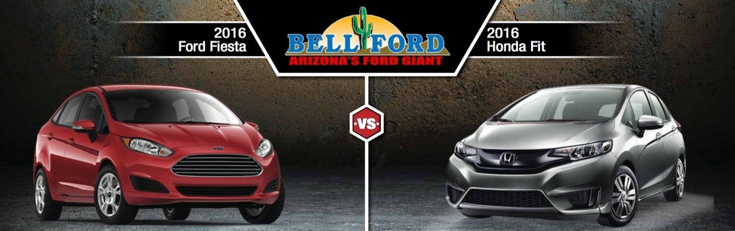 2016 Ford Fiesta Vs 2016 Honda Fit In Phoenix, AZ