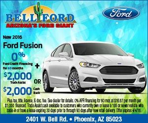 Ford Dealership Phoenix >> Bell Ford New Ford Dealership Phoenix Az 85023
