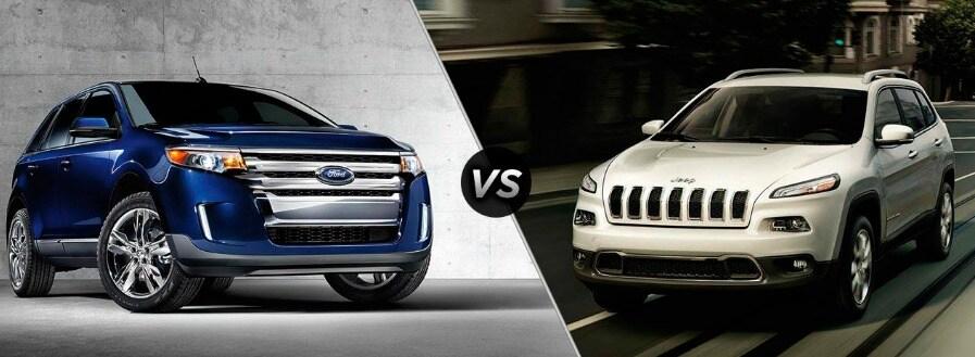 Ford Edge Vs  Jeep Cherokee