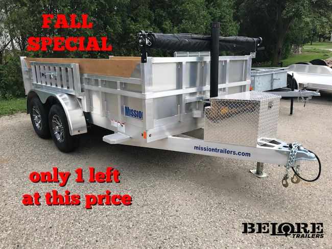 2018 Mission Trailers MODP Fall Special - 1 Left at This Price