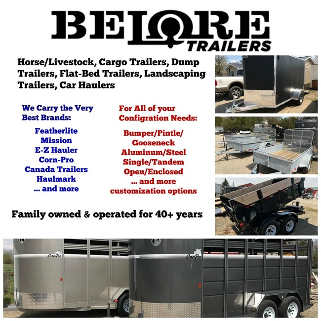 New 2019 Canada Trailers 722 Hde For Sale At Belore