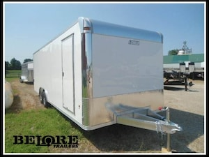 2018 E-Z Hauler 24ft Brand New Aluminum Trailer