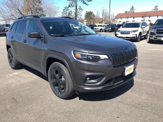 New 2019 Jeep Cherokee Altitude 4x4 For Sale Bemidji Mn