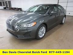 2019 Ford Fusion SE Sedan 3FA6P0HD0KR131631