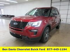 2019 Ford Explorer Sport SUV 1FM5K8GT3KGA05424