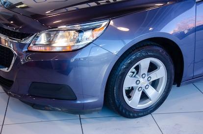 Used 2015 Chevrolet Malibu Sedan Atlantis Blue For Sale in