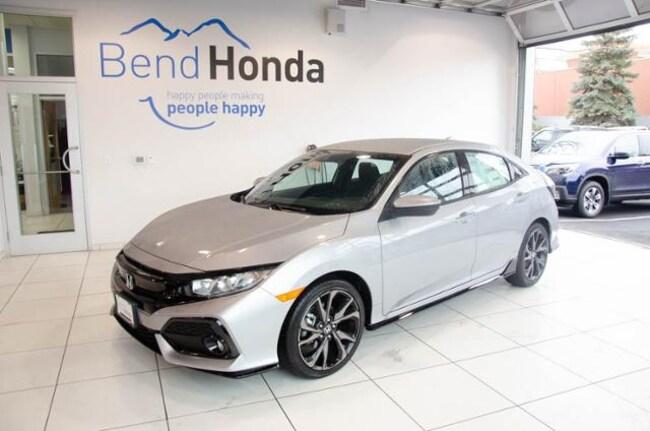 New 2019 Honda Civic Sport Hatchback Bend, OR