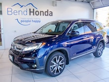 New 2019 Honda Pilot Touring 8-Passenger AWD SUV Bend, OR