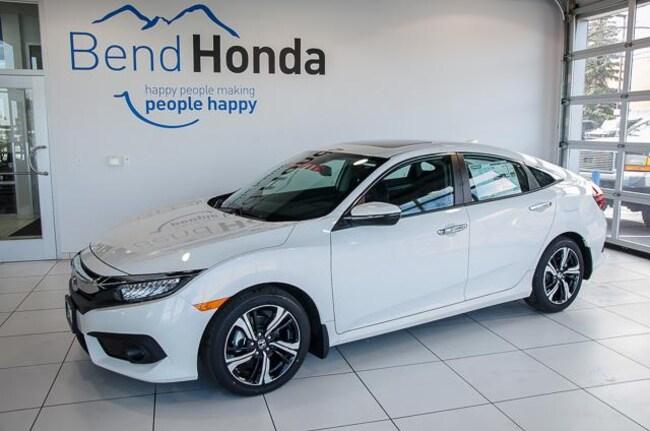 New 2018 Honda Civic Touring Sedan Bend, OR