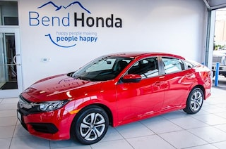 New 2018 Honda Civic LX Sedan Bend, OR