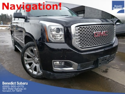 Used 2015 GMC Yukon For Sale in Norwich NY