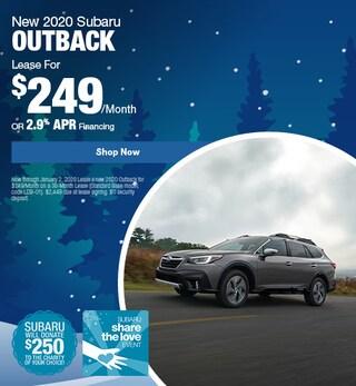 New 2020 Subaru Outback - December Special