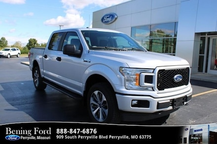 2019 Ford F-150 4WD STX Supercrew Crew Cab Short Bed Truck