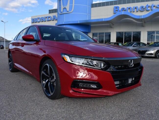 New 2019 Honda Accord Sport Sedan Bennettsville