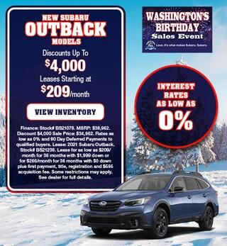 New Subaru Outback Models