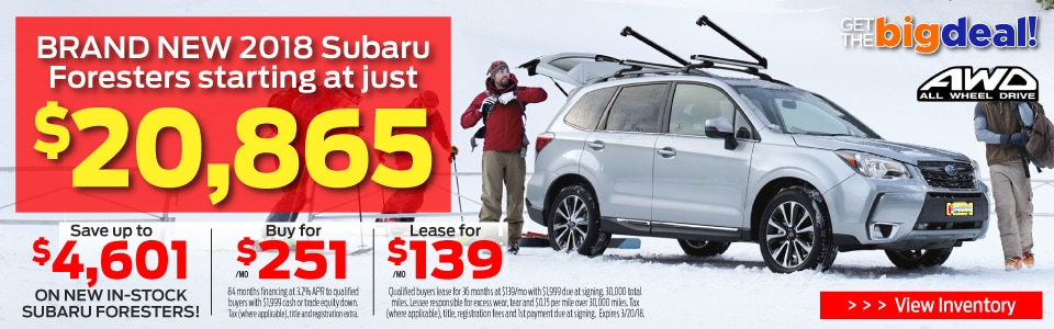 Subaru Forester Best Price
