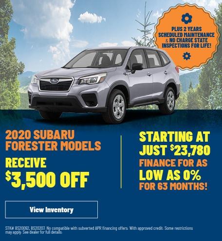 2020 Subaru Forester Models