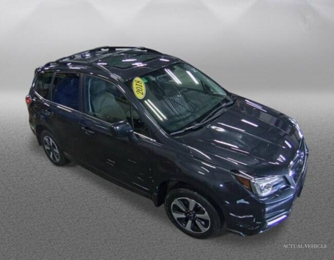 Certified 2018 Subaru Forester 2.5i Limited SUV in Bennington, VT