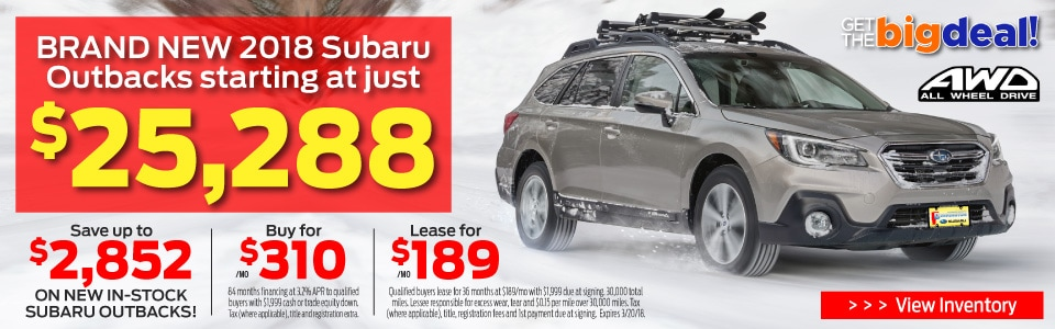 Subaru Outback Best Price