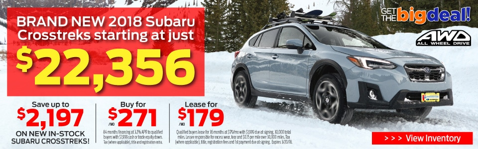 Subaru Crosstreck Best Price