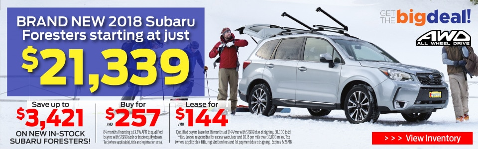 Subaru Forester Sale