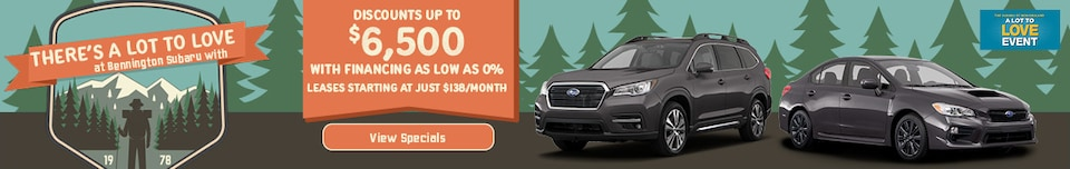 There's A Lot to Love at Bennington Subaru with