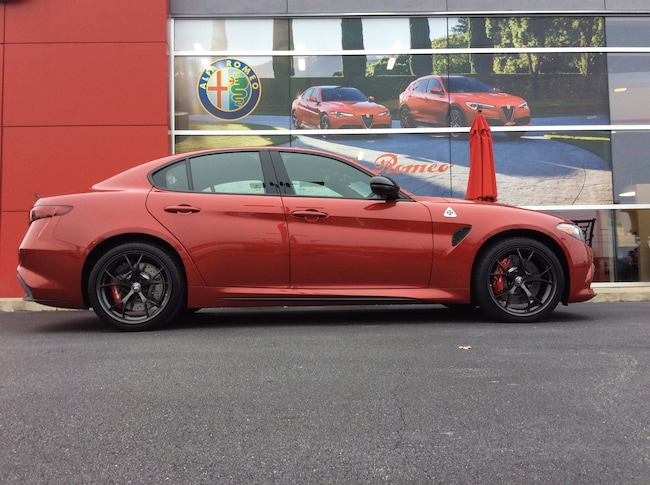 New 2019 Alfa Romeo Giulia QUADRIFOGLIO RWD Sedan For Sale/Lease Greer, SC