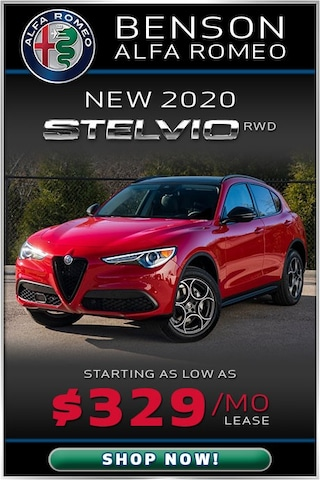 New 2020 Stelvio RWD