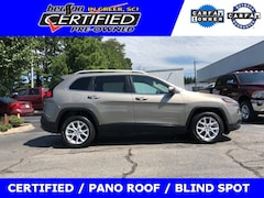 Certified Used Vehicles 2017 Jeep Cherokee Latitude Sport Utility for sale in Greer, SC