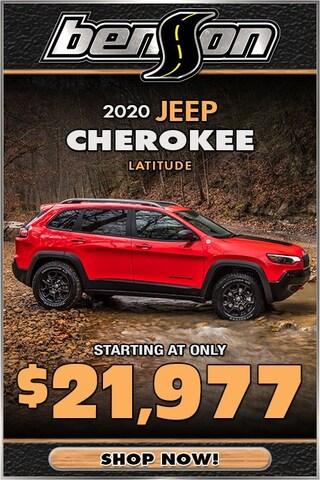 Jeep Cherokee Starting At