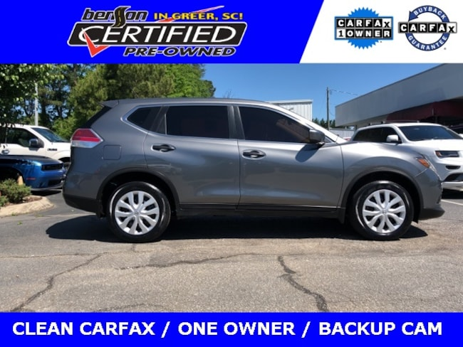 Used 2016 Nissan Rogue S Sport Utility For Sale Greer, SC