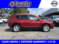 Certified Used Vehicles 2016 Jeep Compass Latitude Sport Utility for sale in Greer, SC