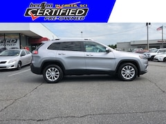 Certified Used Vehicles 2019 Jeep Cherokee Latitude Sport Utility for sale in Greer, SC