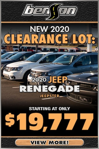 New 2020 Clearance Lot