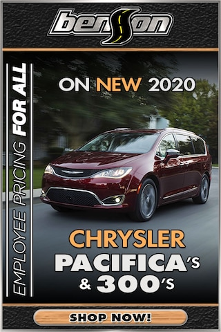 New 2020 Chrysler Pacifica & 300