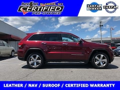 Certified Used Vehicles 2016 Jeep Grand Cherokee Limited Sport Utility for sale in Greer, SC
