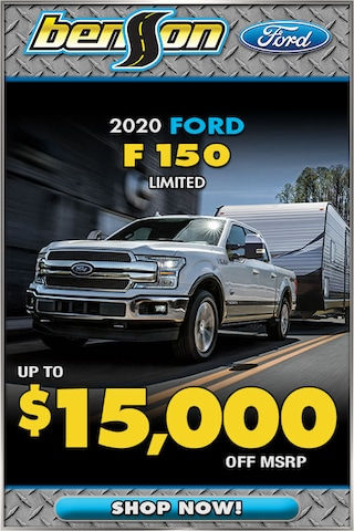 New 2020 Ford F150 Limited