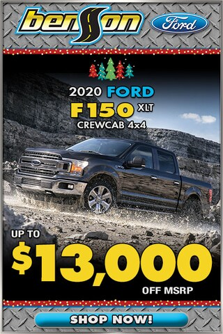 New 2020 Ford F150