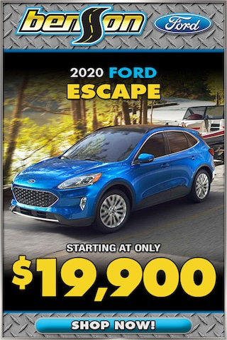 New 2020 Ford Escape