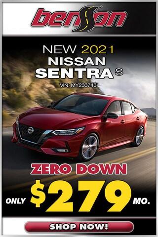 New 2021 Nissan Sentra