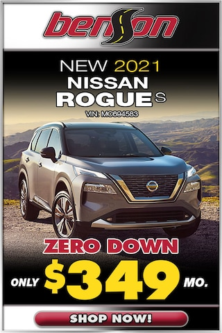 New 2021 Nissan Rogue